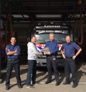 St. Urbanuskerk Bovenkerk - brandweer bedankt