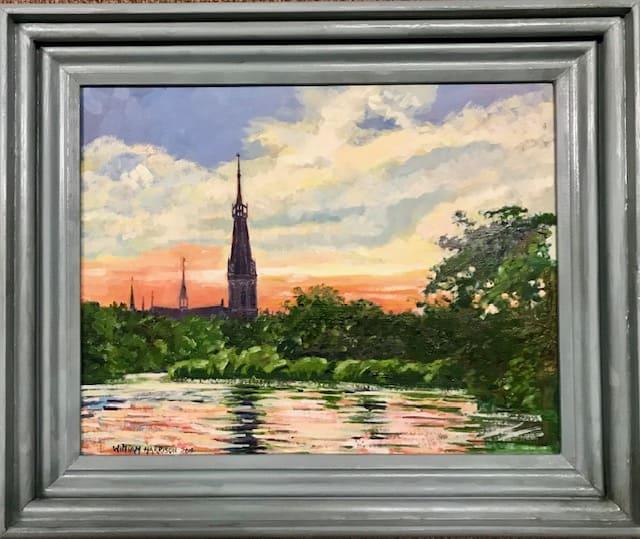 Schilderij in olieverf van William Harrison