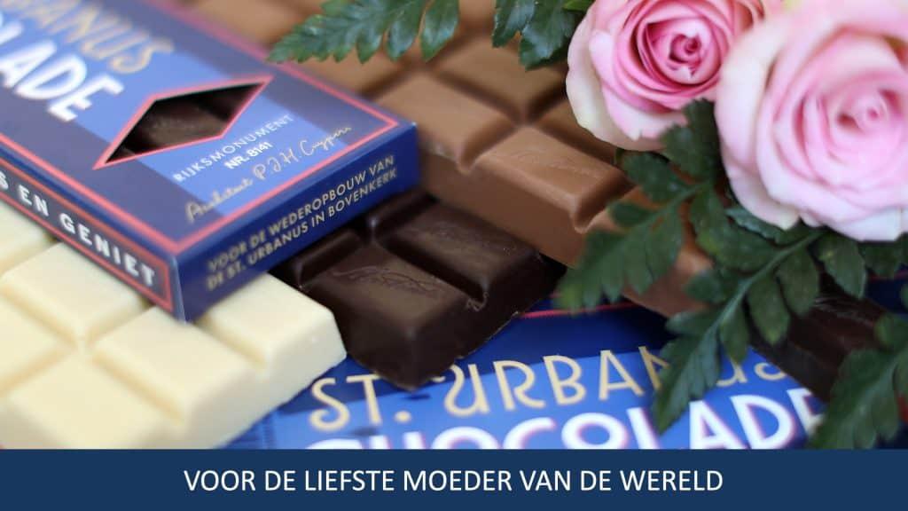 St. Urbanus Chocolade - voor de liefste moeder van de wereld