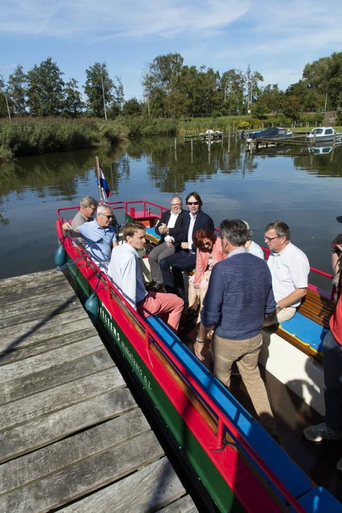 Rondvaart op de Amstelveense Poel - vertrek
