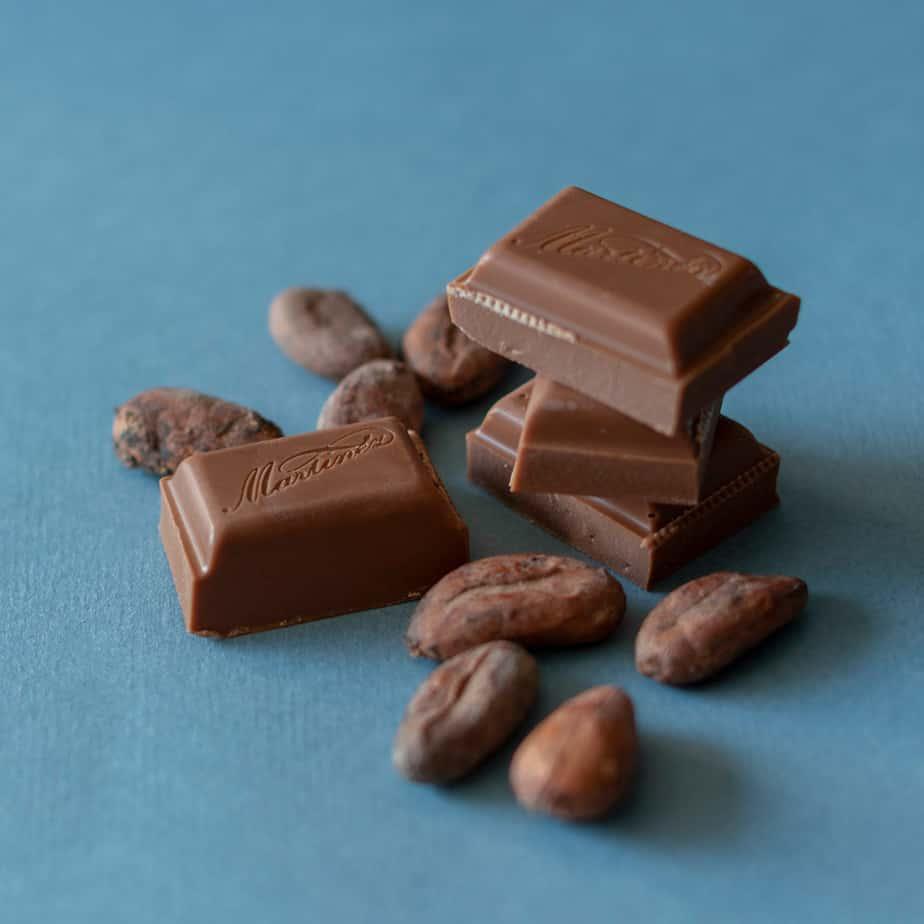 Blikje chocoladereep melk