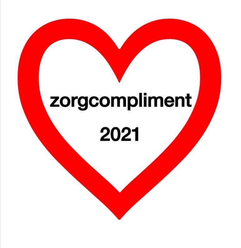 Logo zorgcompliment 2021