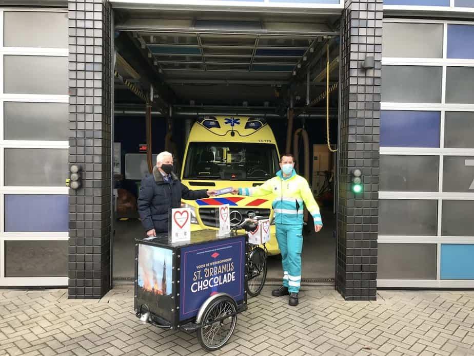 Zorgcompliment voor ambulancezorg Amstelveen