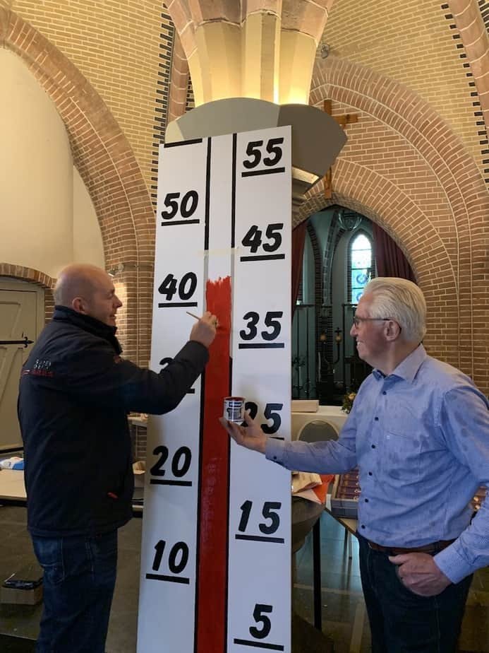 Fondsthermometer staat op € 460.000,-
